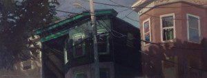 Amanecer en un dia de verano. 40x100 Boston Massachussets