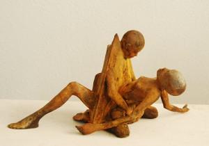 Erótica IV-bronce