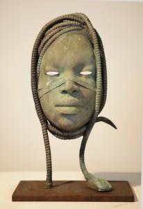 Medusa II-Bronce-hierro