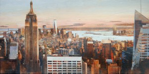 NYC 40x80cm