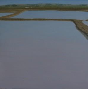 Salinas en Asilah 50x50cm oleo-tabla