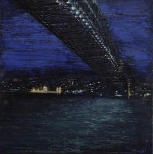 The hamburg bridge Sydney