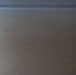 Horizonte gris 100x100cm oleo-tabla