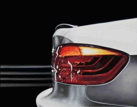 4.- Bertha Rodriguez, Mercedes, 2013, acrílico y óleo sobre tela, 60 x 80 cm