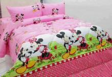 mickey heart pink