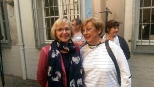 Bürgermeisterinnen Margarete Wietelmann, Mülheim und Karin Meincke,Krefeld
