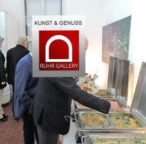 Auch Kunstliebe geht durch den Magen - Kunst & Genuss in der RuhrGallery