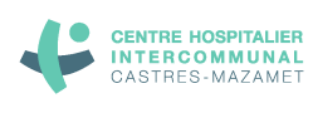 This logo testifies of the partnership between the CHU of Castres-Mazamet and Artwave for a Digital Art License of Diffusion
