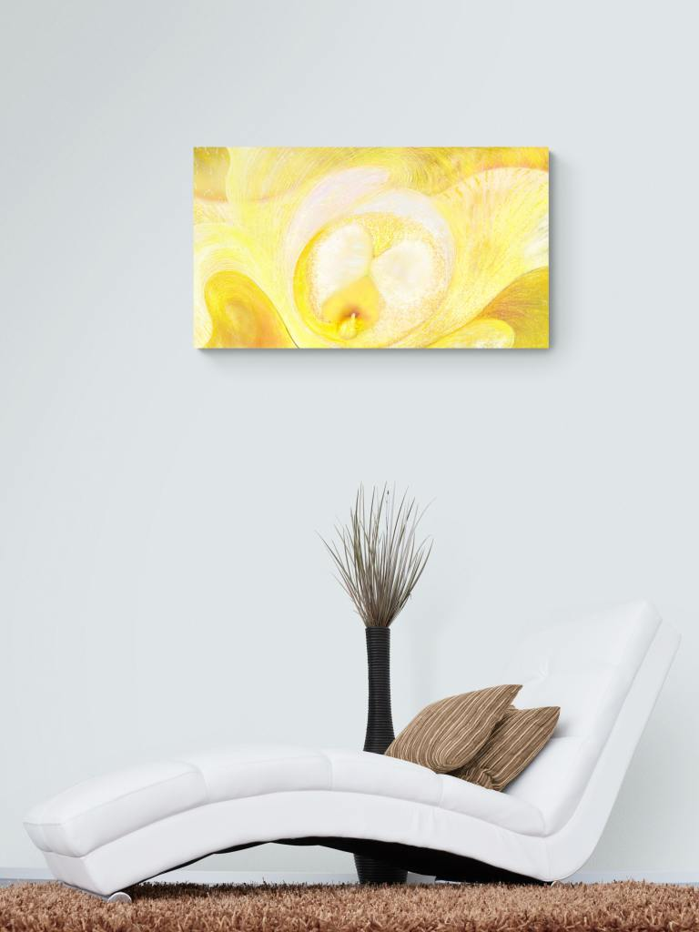 This dibond print by Anne Turlais, the original floral artist, brings a sense of calm and peace to any room. Printed on high quality paper and ready to frame. Let the Summer flowers brighten your day!