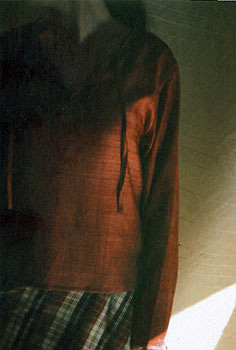 真砂三千代 展「VOICE OF CLOTH」 2004 Afa 春夏Collection