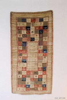 ガベと呼ばれる絨毯展