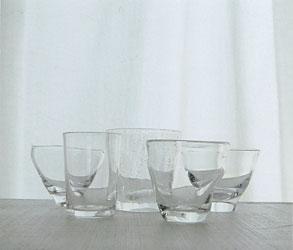 盛夏のガラス展
