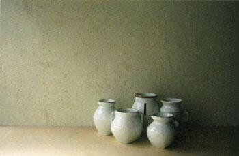 内藤美弥子展「白のかたち」
