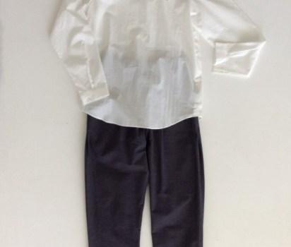 ヒムカシの白シャツ