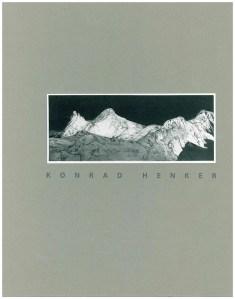 Konrad Henker Radierungen Cover