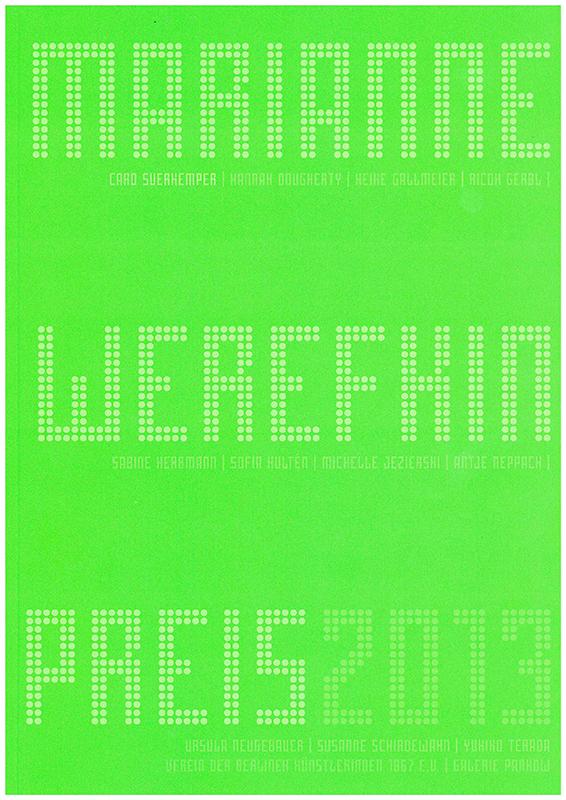 Marianne-Werefkin-Preis 2013 Cover