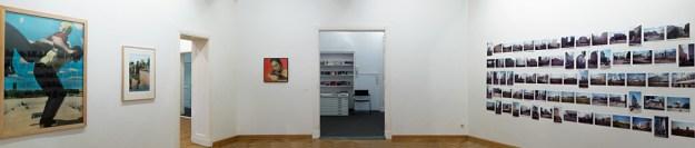 Ausstellungsansicht der Fotoausstellung Florian Merkel in Berlin
