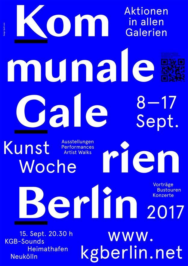 KGBerlin Poster 2017