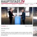 TV Interview mit Manfred Paul