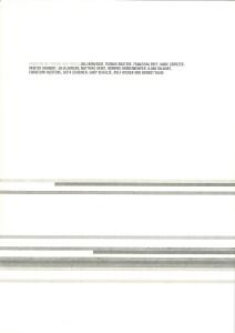 Berndt Wilde mit Papier auf Papier Cover