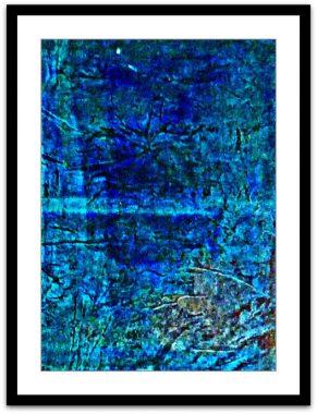 Tief Grün-Blau