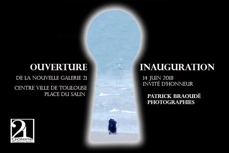 Patrick Braoudé invité d'honneur Galerie 21