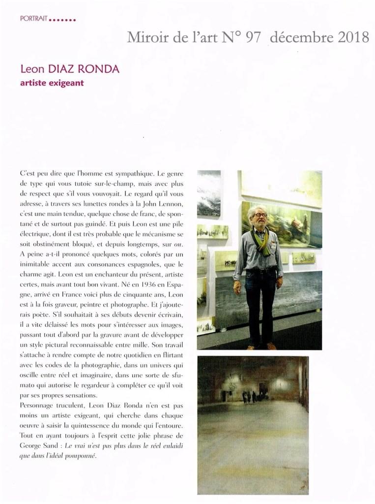 Mirroir de l'art Léon Galerie 21