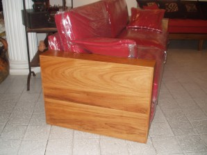 canapé bissao en bois de veine