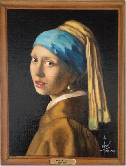 La jeune femme à la perle