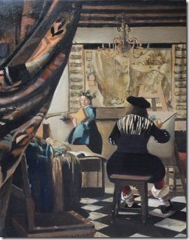 L'art de la peinture Vermeer 3