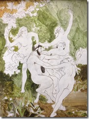 Nymphe et satyre EJG Bouguereau