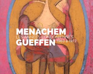 Affiche exposition Menachem Gueffen