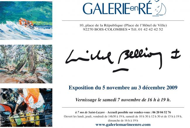 Michel BELLION - carton texte