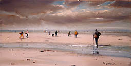 Philippe GIRARDOT - Pêche à pied 49 x 26