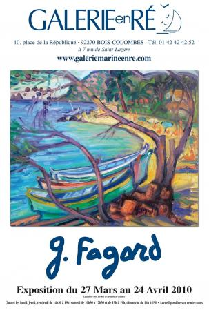 Gerard FAGARD - Affiche 2010