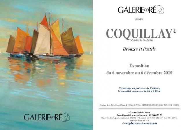 Jacques COQUILLAY - Carton exposition 2011