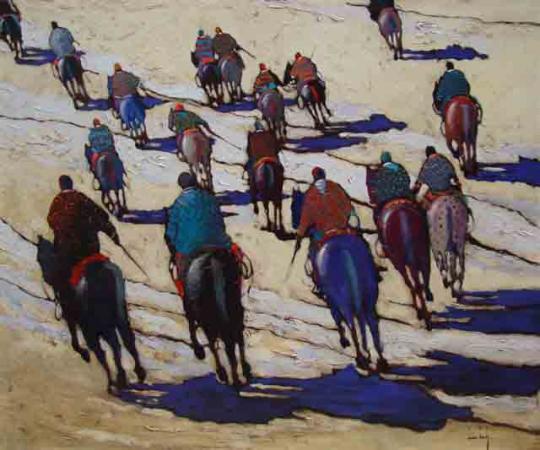 Olivier SUIRE-VERLEY - La cavalerie 2010