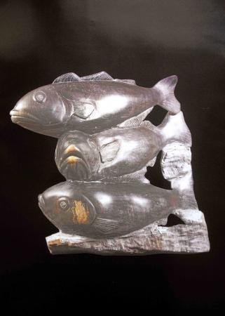 Jean Lemonnier - Les trois poissons