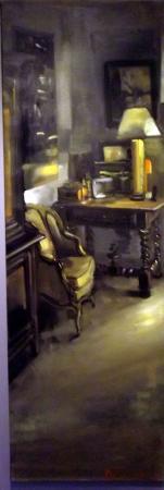 Christoff DEBUSSCHERE - La bergère 150x50