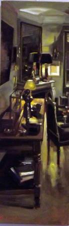 Christoff DEBUSSCHERE - 12 le salon jaune et noir 150x50