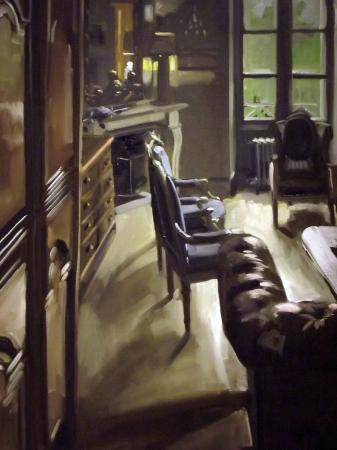 Christoff DEBUSSCHERE - les fauteuils bleus