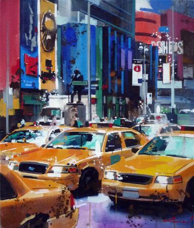 Yong-Man KWON - Taxi à NYC nov 12 B