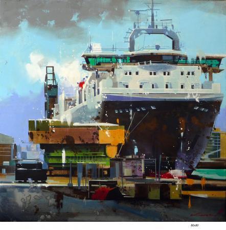 Yong-Man KWON - Cargo à St Nazaire