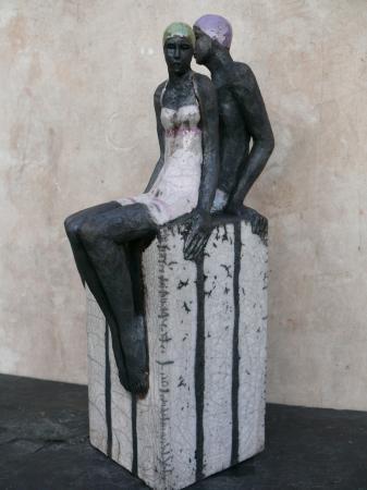 Sylvie du PLESSIS - couple - raku-2012