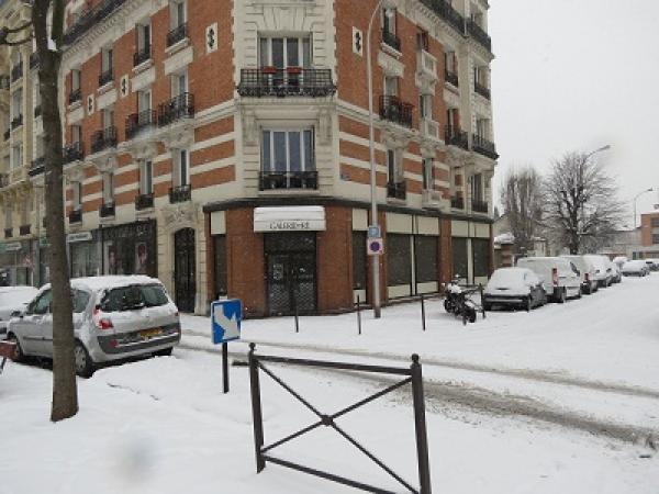 La galerie sous la neige (T.Lechat) bois colombes galerie