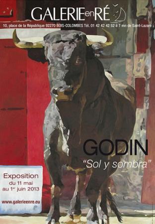 Jacques GODIN - Affiche 2013