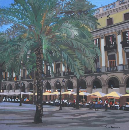 Jacques GODIN - 13 Plaza real 2 30x30