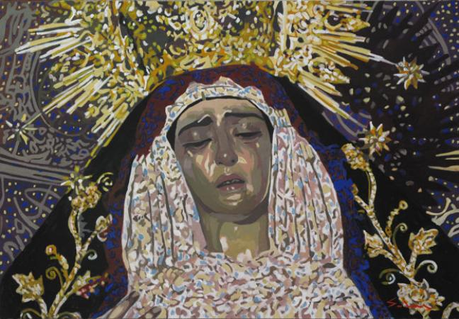 Jacques GODIN - La vierge de l'incarnation 21X30
