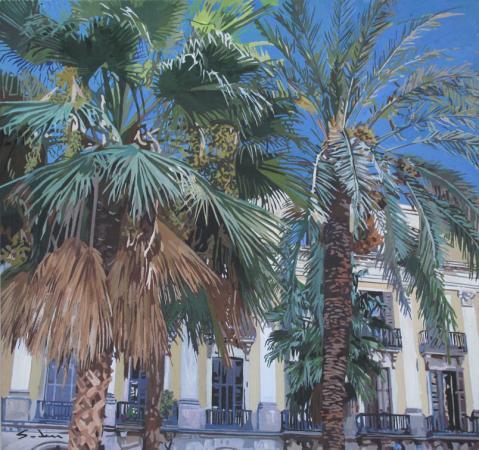 Jacques GODIN - La Plaza real 1