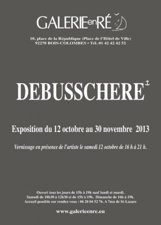 Christoff DEBUSSCHERE - invitation vernissage 2013